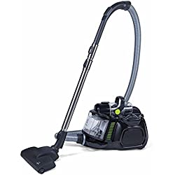 Electrolux EL4021A Black Silent Performer Cyclonic Bag less Canister Vacuum includes cleaning tools with 3-in-1 crevice tool washable HEPA filter and Clean Air Filtration