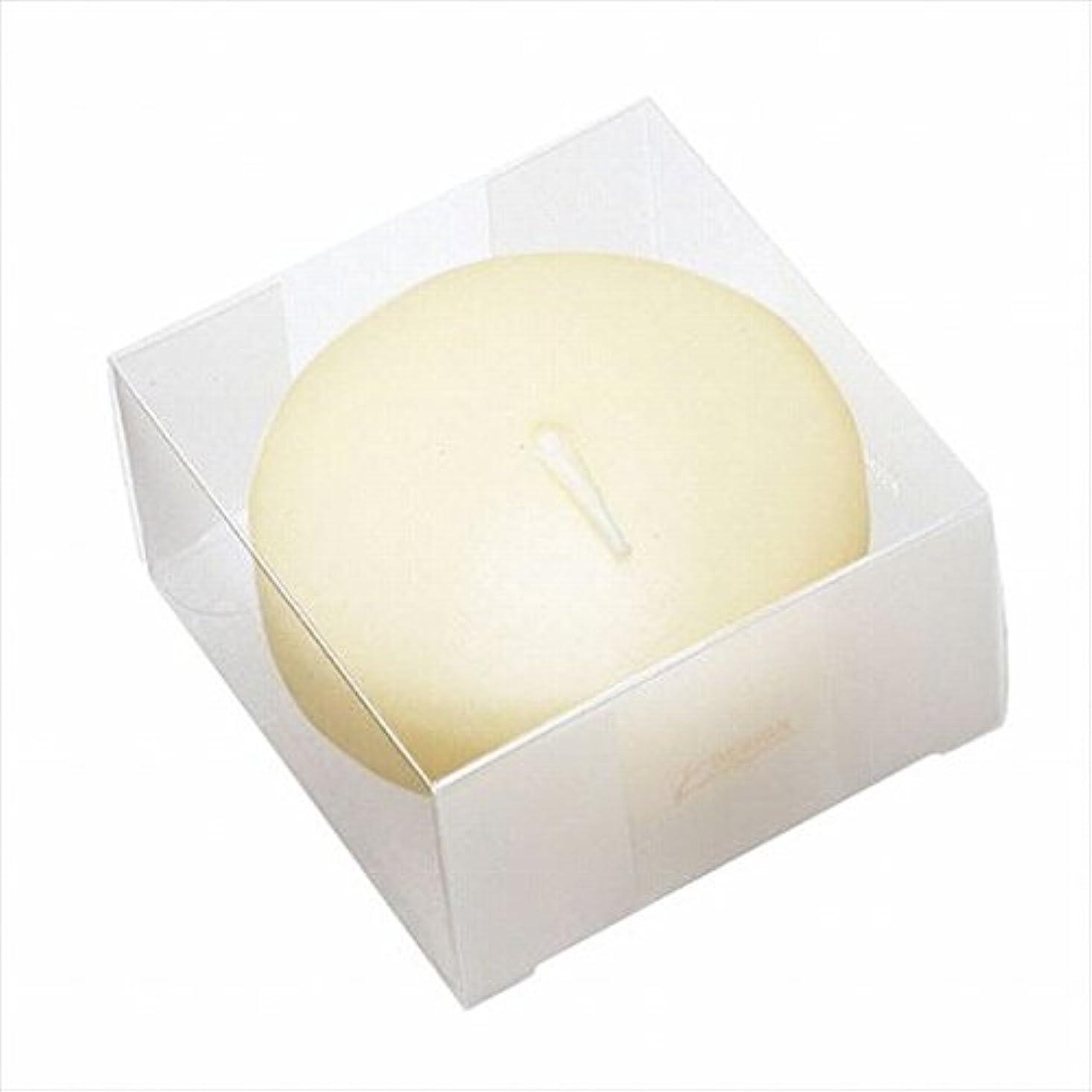 塩辛いサーカス質素なカメヤマキャンドル(kameyama candle) プール80(箱入り) 「 アイボリー 」