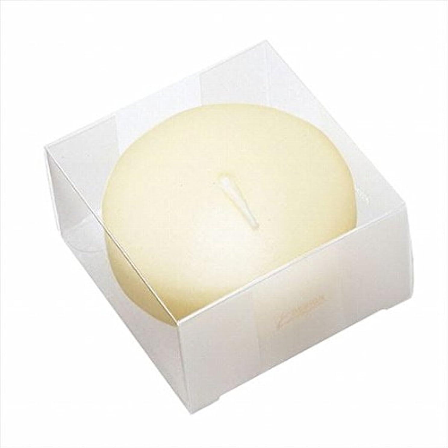 満足信条チャーミングカメヤマキャンドル(kameyama candle) プール80(箱入り) 「 アイボリー 」