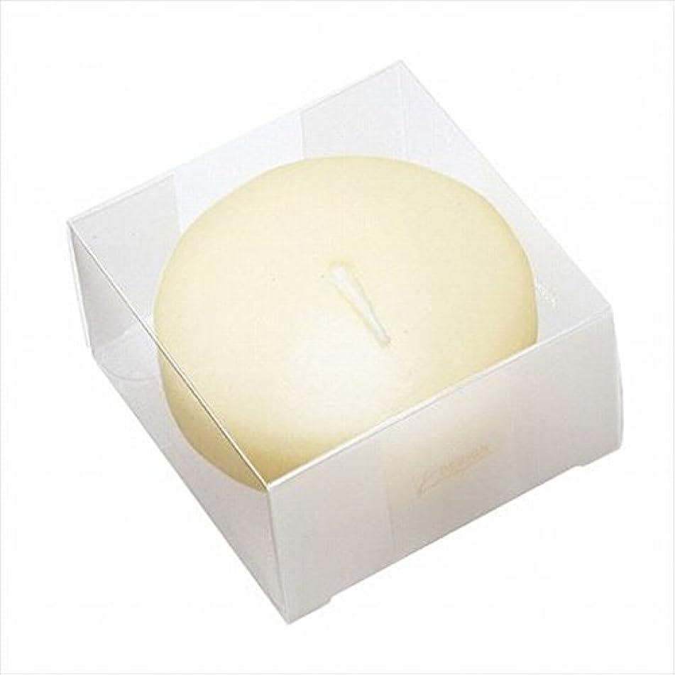 鰐悪意のあるモートカメヤマキャンドル(kameyama candle) プール80(箱入り) 「 アイボリー 」