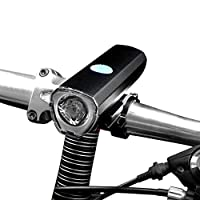Mi.Ximql06ハイライト 懐中電灯 自転車ライト 防水防水USB充電 ナイトライド装置マウンテンバイクヘッドライト