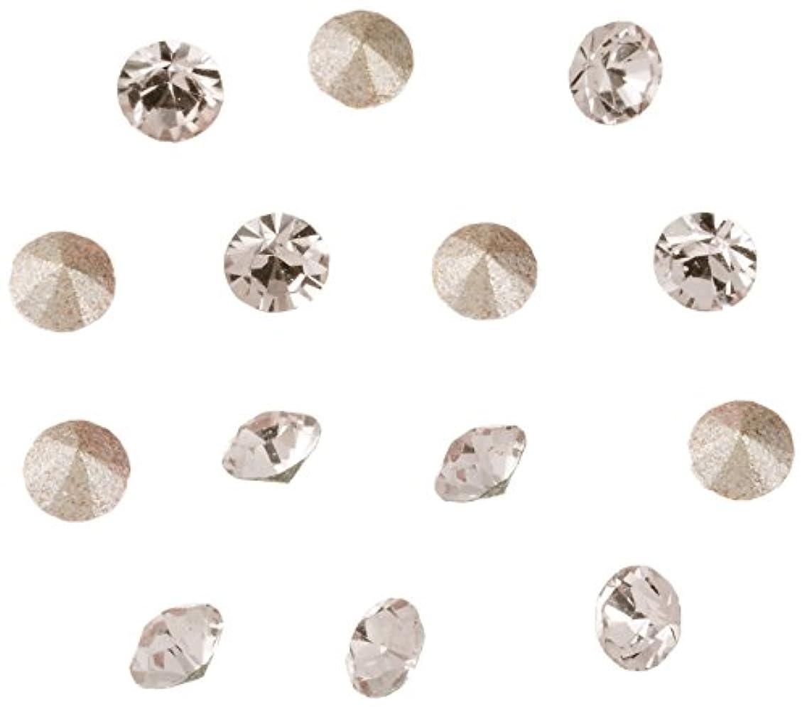 説得コールドエクスタシーネイルアートパーツ Vカットストーン クリスタル PP15   約2.1~2.2mm