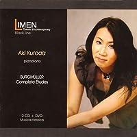 ブルグミュラー:25の練習曲集Op.100 他 (Burgmuller : Complete Etudes / Aki Kuroda (P)) (2CD+1DVD) [日本語解説付]