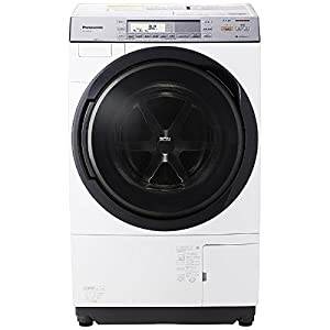パナソニック 11.0kg ドラム式洗濯乾燥機【左開き】クリスタルホワイトPanasonic エコナビ 即効泡洗浄 温水泡洗浄 NA-VX8700L-W