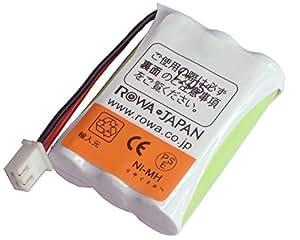 【ロワジャパン】【大容量 通話時間UP】SANYO 三洋電機 NTL-100 骨伝導コードレス 子機用 充電池 電話機用 交換バッテリー