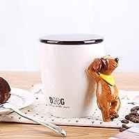 かわいいオフィスコーヒーカップファッションドリンクカップ創造的なマグ人格漫画動物セラミックカップ