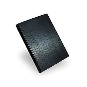 MARSHAL 2.5インチ 外付けHDD 1TB USB3.0 ポータブルハードディスク テレビ録画対応 【だれでも簡単接続】 MAL21000EX3-MK 高級アルミ使用