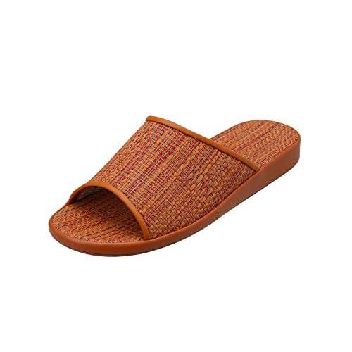 Pansy(パンジー) 9425 パンジー室内履き ルームシューズ レディース スリッパ M オレンジ