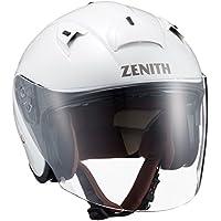 ヤマハ(YAMAHA) バイクヘルメット ジェット YJ-14 ZENITH サンバイザーモデル 90791-2278L  パールホワイト L (頭囲 59cm~60cm)
