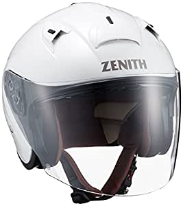 ヤマハ(YAMAHA) バイクヘルメット ジェット YJ-14 ZENITH サンバイザーモデル M(57-58cm) パールホワイト 90791-2278M
