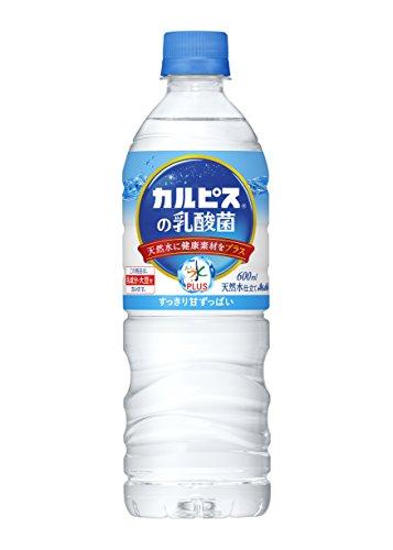 アサヒ おいしい水プラス 「カルピス」の乳酸菌 600ml×24本
