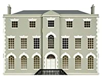 MelodyジェーンDolls Houses国Manor Houseキットwith 8部屋1: 12スケールフラットパックMDF mj26