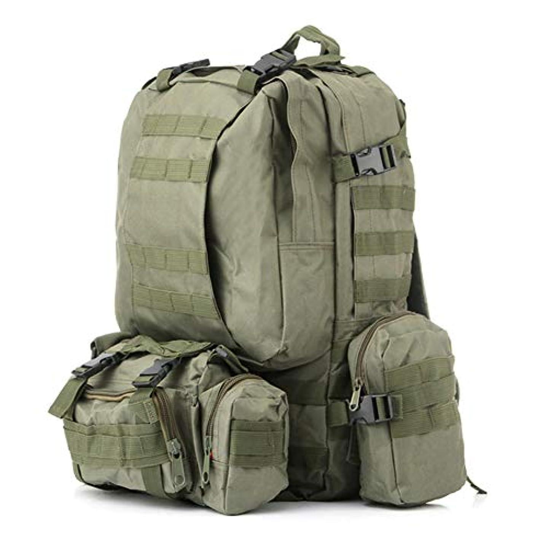 経験タイト最大化するAlloet アウトドア MOLLE ハイキングバックパック 大容量 防水 トレッキングバッグ