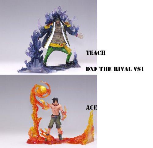 ワンピース/ONE PIECE DXFフィギュア THE RIVAL vs1  全2種セット【ポートガス・D・エース&黒ひげTEACH】 火&闇の戦い