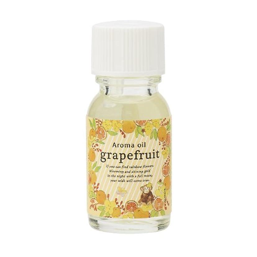 できないバイパス省略サンハーブ アロマオイル グレープフルーツ 13ml(シャキっとまぶしい柑橘系の香り)