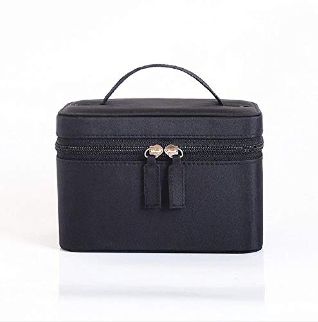 ビリーによって可愛い化粧品ケース、大容量防水三次元ポータブル旅行化粧品袋収納袋、美容ネイルジュエリー収納ボックス
