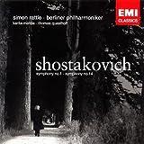 ショスタコーヴィチ:交響曲第1番&第14番