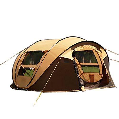 キャンプ初心者も安心!簡単設営ができるキャンプテントのおすすめは?(5人家族向け)