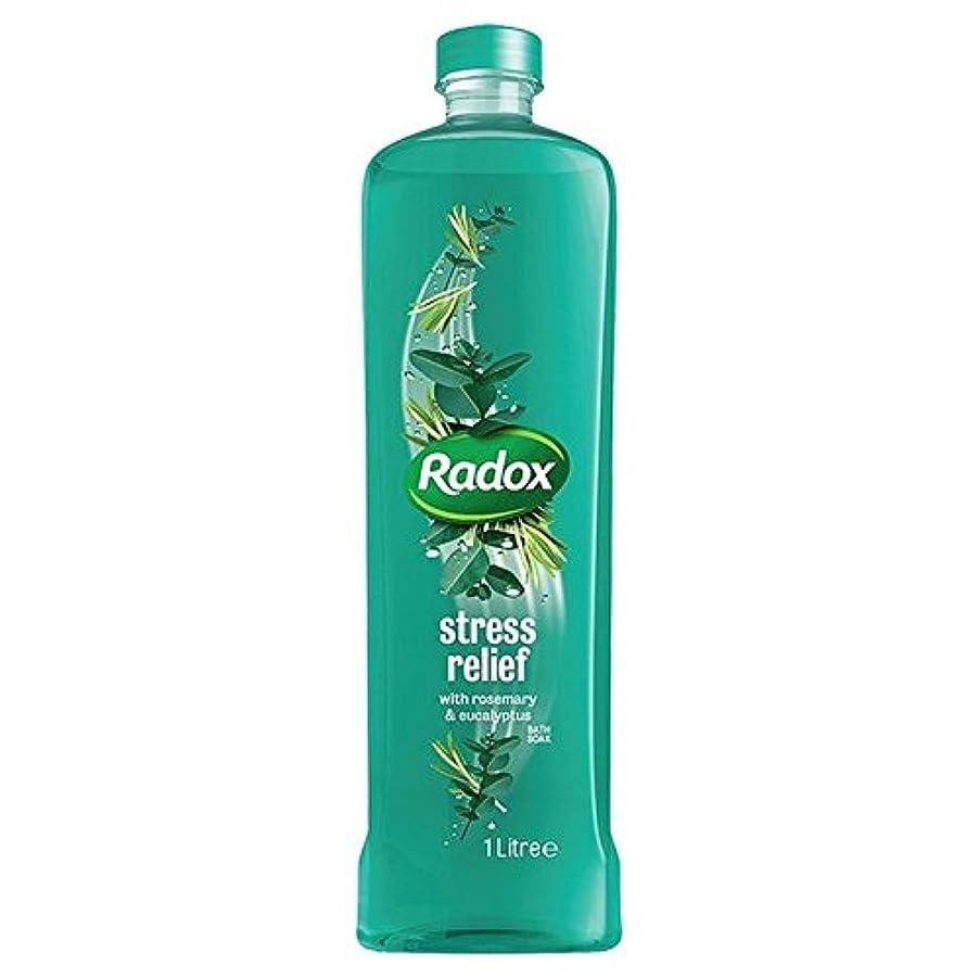 ニコチンウルルジーンズは、1リットルのソーク良い香りストレスリリーフ風呂を感じます x2 - Radox Feel Good Fragrance Stress Relief Bath Soak 1L (Pack of 2) [並行輸入品]