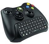 VersionTech「ブラック」無線ゲームキーボード ライブテキストメッセンジャーチャットパッド チャットパッド コントローラ マイクロソフトXBOX 360対応