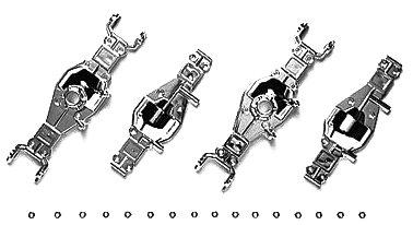 HOP-UP OPTIONS OP-693 TLT-1 メッキデフケース(1台分)