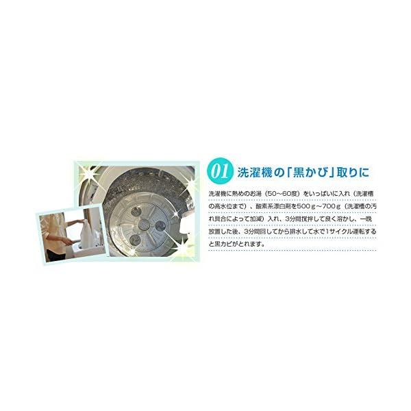 酸素系漂白剤 1kg(過炭酸ナトリウム100%...の紹介画像5