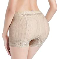 Jason&Helen Women Butt Lifter Body Shaper Underwear Padded Shapewear Enhancer Control Panties