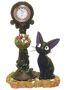 魔女の宅急便 ジオラマ置時計 街角のジジ