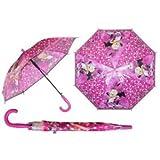 ディズニー ミニーマウス 子供用 傘 自動傘 ジャンプ傘 直径77cm Disney Minnie Mouse umbrella 1509 [並行輸入品]