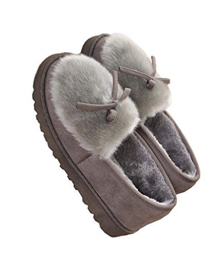 [해외]IYHUO 룸 슈즈 슬리퍼 슬리퍼 신발 겨울면 슬리퍼 방한 두꺼운 여성의 신발 미끄럼 방지 통굽 방수/IYHUO room shoes slippers indoor wear shoes winter cotton slipper cold weather thick women`s shoes slip non-slip thick bottom waterproof