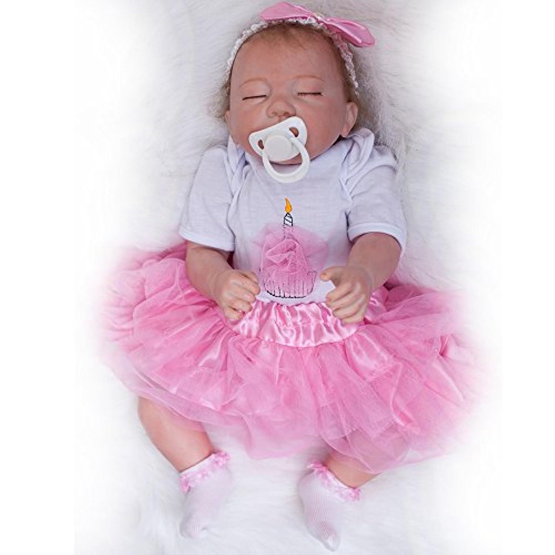 vinlyシリコンRebornベビー人形Girls That Look Real 20インチSleeping新生児赤ちゃんキッズ用