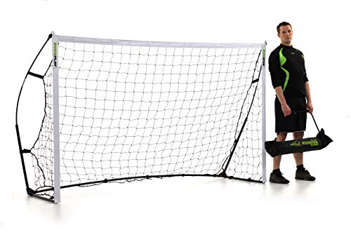 クイックプレイ ポータブル サッカーゴール 2.4m×1.5m 組み立て式ゴール 8KSR