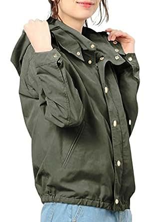 ブルゾン レディース パーカー ジャケット スライダージャケット ジャンパー アウター コート ウインドブレーカー トップス 上着フード付け 春秋冬