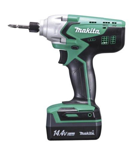 マキタ 充電式インパクトドライバ 14.4V バッテリー2個付き M695DWX