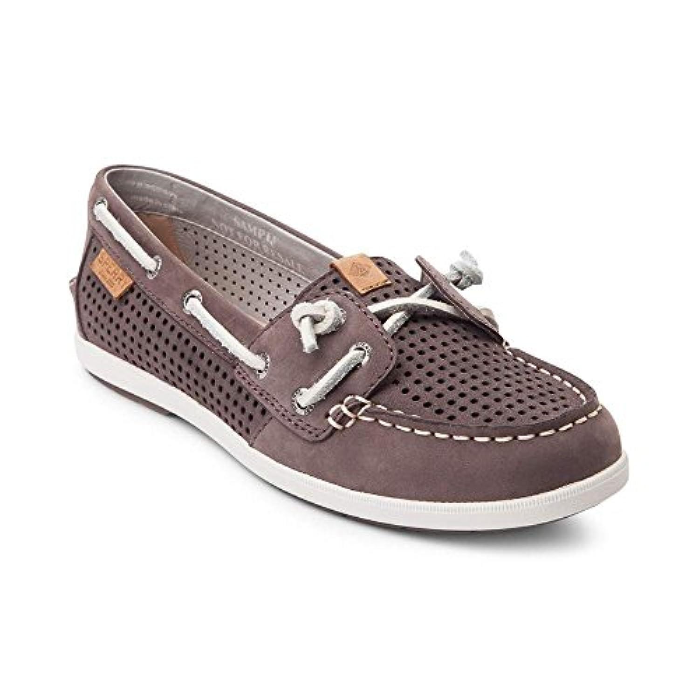 (スペリートップサイダー) SPERRY TOPSIDER 靴?シューズ レディースボートシューズ Womens Sperry Top-Sider Coil Ivy Boat Shoe Graphite Gray グラファイト...