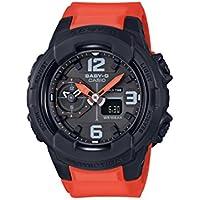 Casio Baby-G Unisex Black/Orange Analogue/Digital Watch BGA-230-4B BGA-230-4BDR