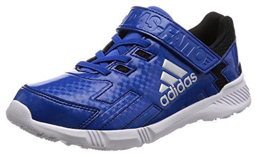 [アディダス]運動靴 KIDS アディダスファイト EL K LG ブルー/シルバーメット/コアブラ...