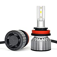 車のヘッドライトの球根、6000K 2800の内腔LEDのヘッドライトの球根、球根ランプ防水IP67Car自動LEDの転換のキット、2パック,9005