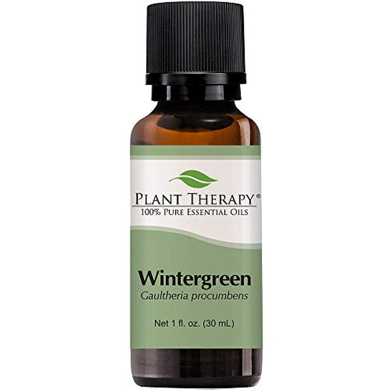 ペリスコーププロトタイプ継承Wintergreen Essential Oil. 30 ml (1 oz). 100% Pure, Undiluted, Therapeutic Grade. by Plant Therapy Essential Oils