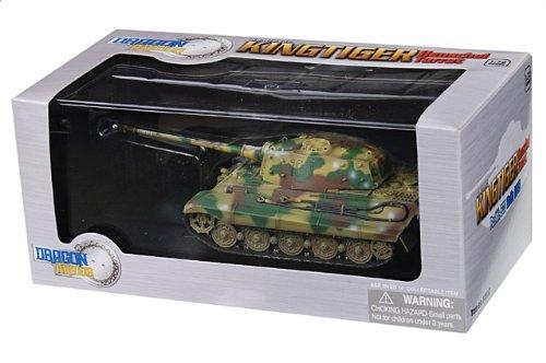 1:72 ドラゴンモデルズ アーマー コレクター シリーズ 60552 ポルシェ Sd.Kfz.182 King Tiger ディスプレイ モデル ドイツ軍 PzAbt.503 #100 Berlin