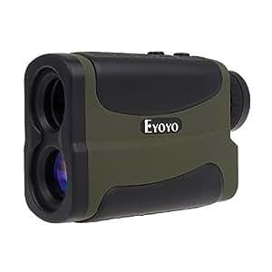 Eyoyo 700ヤード ゴルフ 距離計 携帯型 距離/角度/速度/高度測定 ピンシーク機能