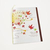 [席次表手作りセット]扇華(せんか)(10名様分)プリント用紙:A4サイズ /結婚式【多目的】