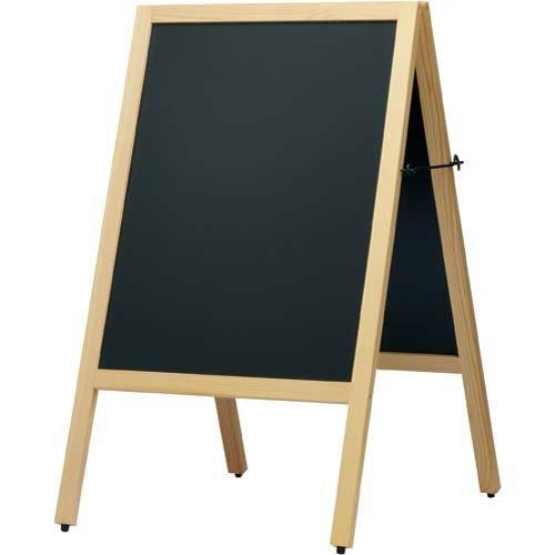RoomClip商品情報 - カウネット A型スタンド黒板 ナチュラル 幅500