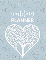 Wedding Planner: Tree of Life (Blue) Party Planner And Organizer Notebook With Checklists, Budget Planner, Contact Lists, Menu Planner, Calendar And More [Large size 8.5 x 11 in , 130 pages] (Wedding Planners & Organizers)