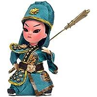 愛らしいGuanゆう工芸中国北京オペラ人形の装飾
