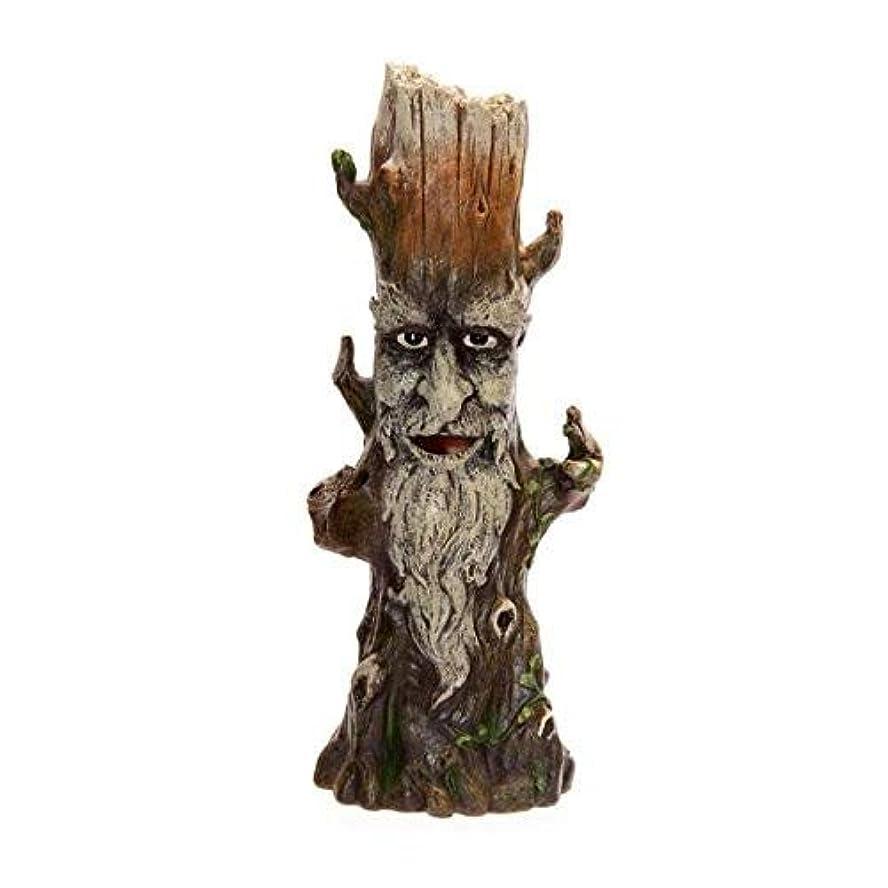 刈る兵士前文Treeman Incense Burner