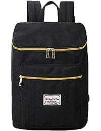 [temochi] ボックス型 リュックサック デイパック バックパック かばん 男女兼用 タウンユース 通学 通勤 11色展開