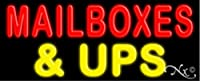13x 32x 3インチメールボックス& Upsネオン広告ウィンドウサイン