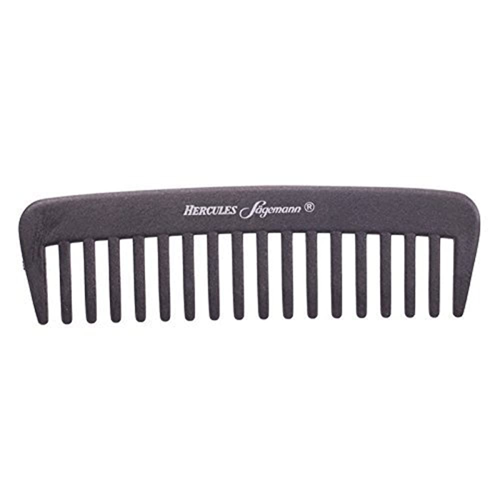 一部パートナー指導するHercules S?gemann Carbon Afro - Hair Styler Comb for Curly Hair | Made in Germany [並行輸入品]