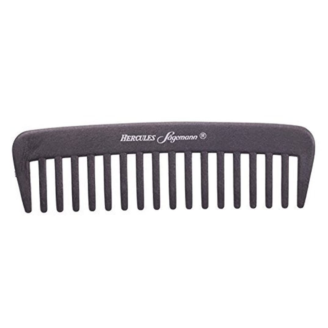 伝導率利点マインドHercules S?gemann Carbon Afro - Hair Styler Comb for Curly Hair | Made in Germany [並行輸入品]